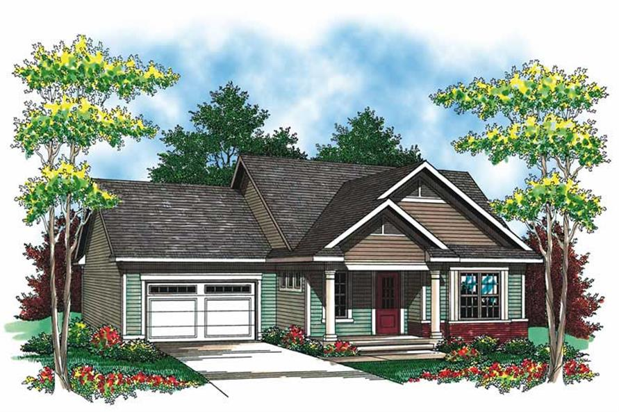 Main image for house plan # 19544