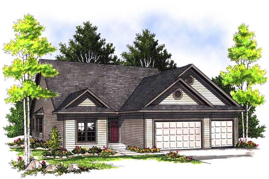 Main image for house plan # 13581