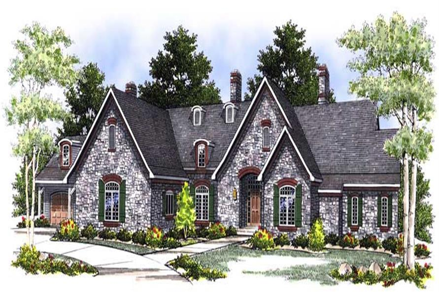Main image for house plan # 13576