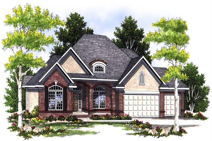 Main image for house plan # 13587