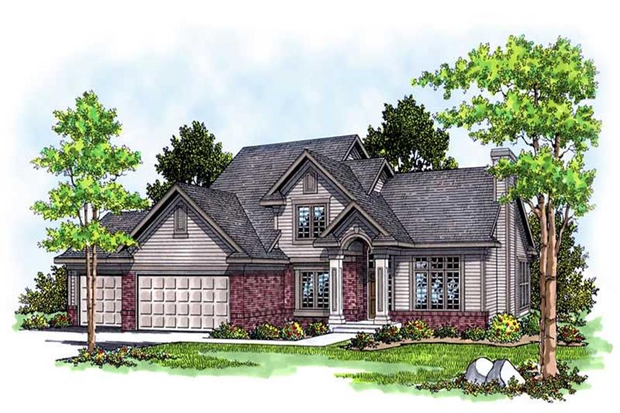 Main image for house plan # 13557