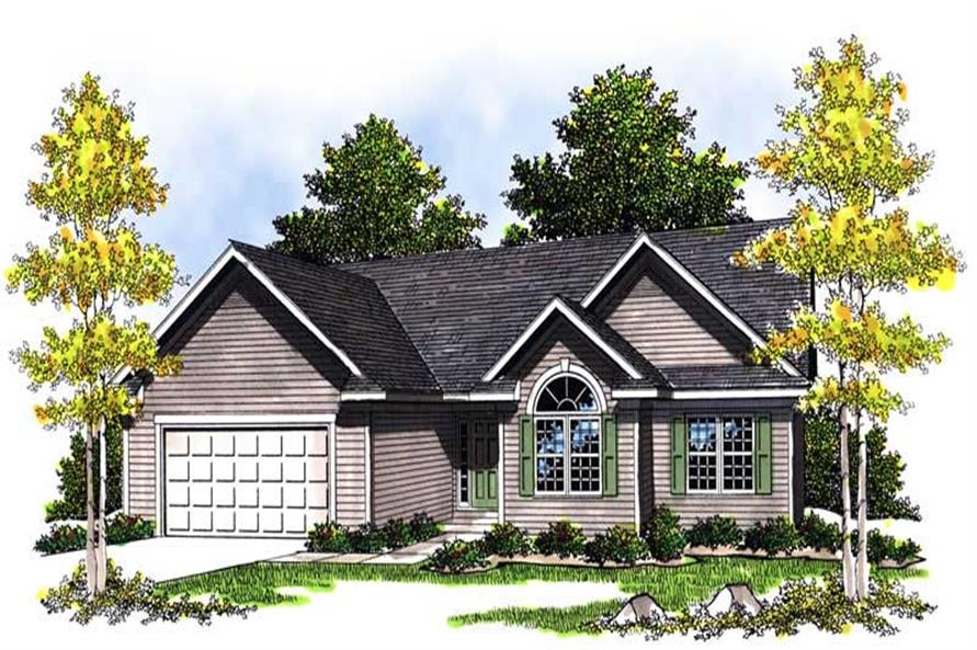 Main image for house plan # 13556