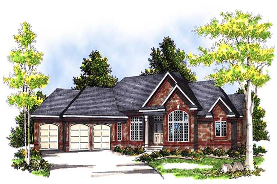 Main image for house plan # 13550