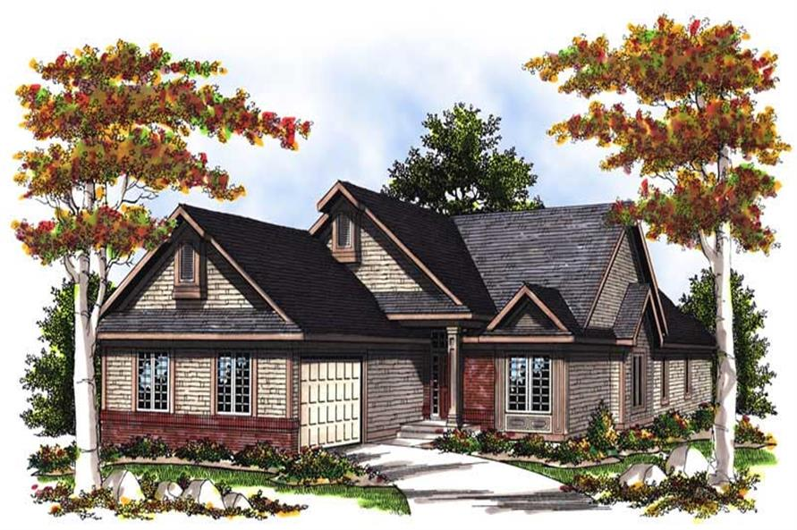 Main image for house plan # 13547