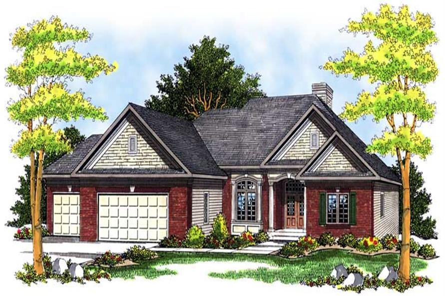 Main image for house plan # 13667