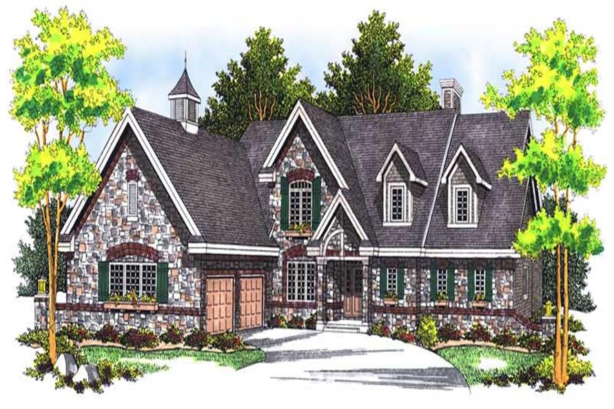 Main image for house plan # 13609