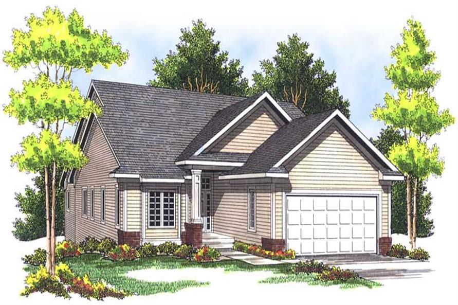 Main image for house plan # 13608