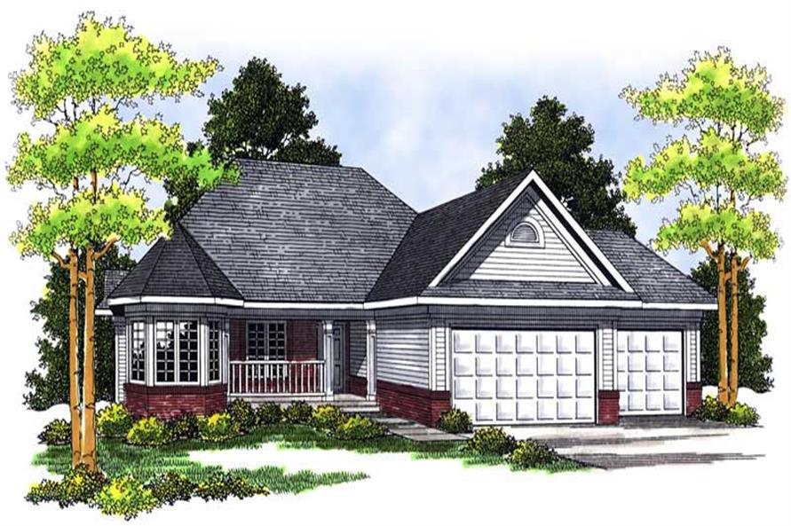 Main image for house plan # 13605