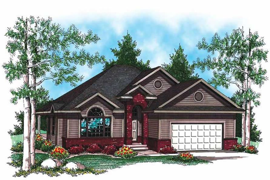 Main image for house plan # 19495