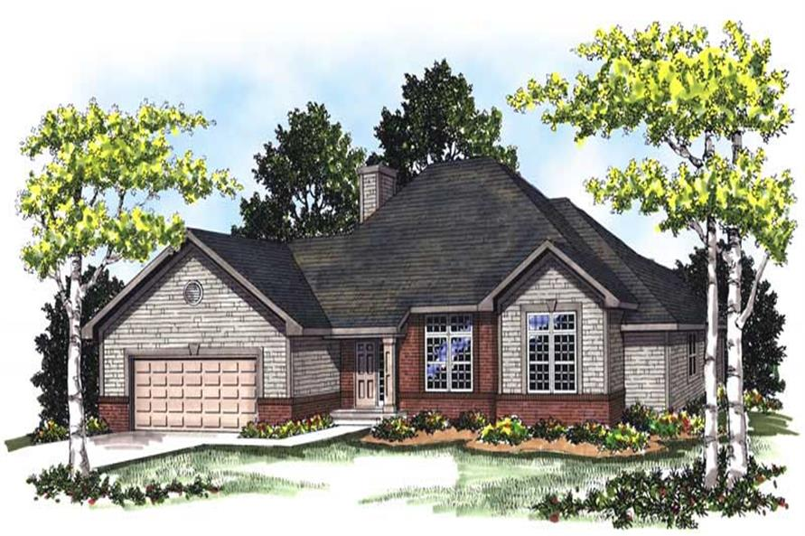 Main image for house plan # 13328
