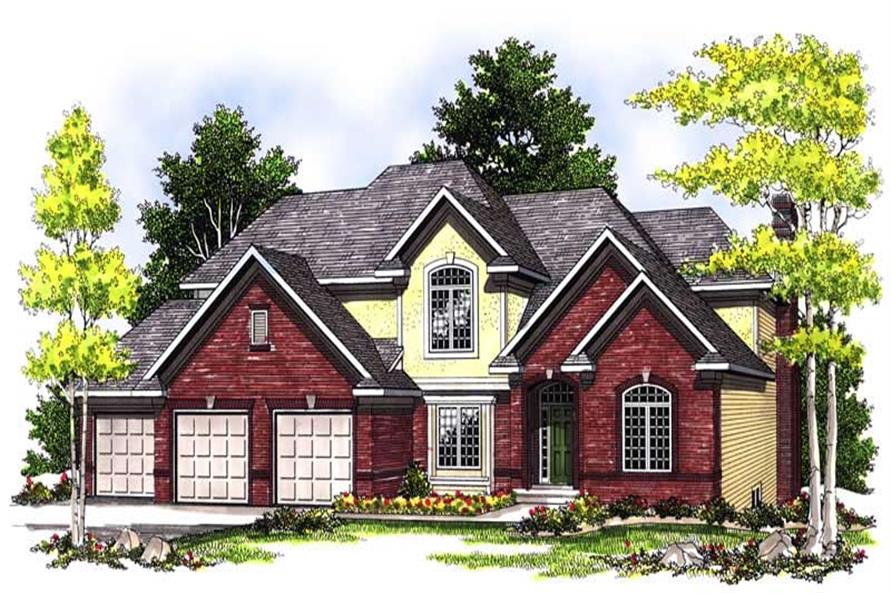 Main image for house plan # 13589