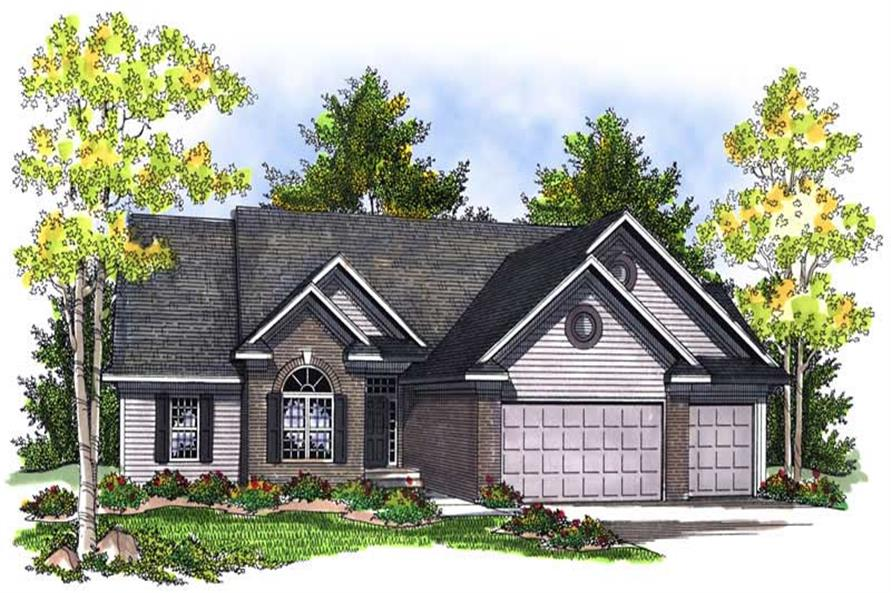 Main image for house plan # 13993