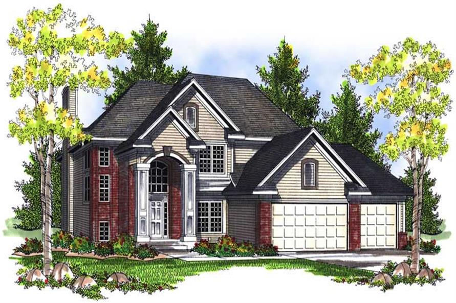 Main image for house plan # 13994