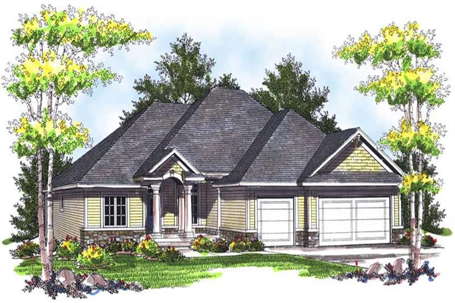 Main image for house plan # 14003