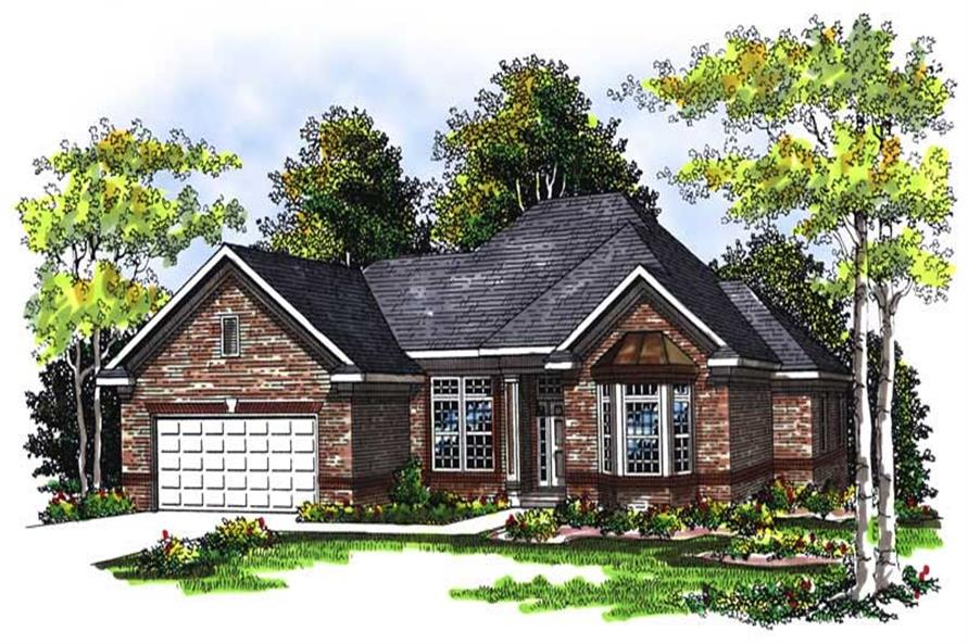 Main image for house plan # 13433