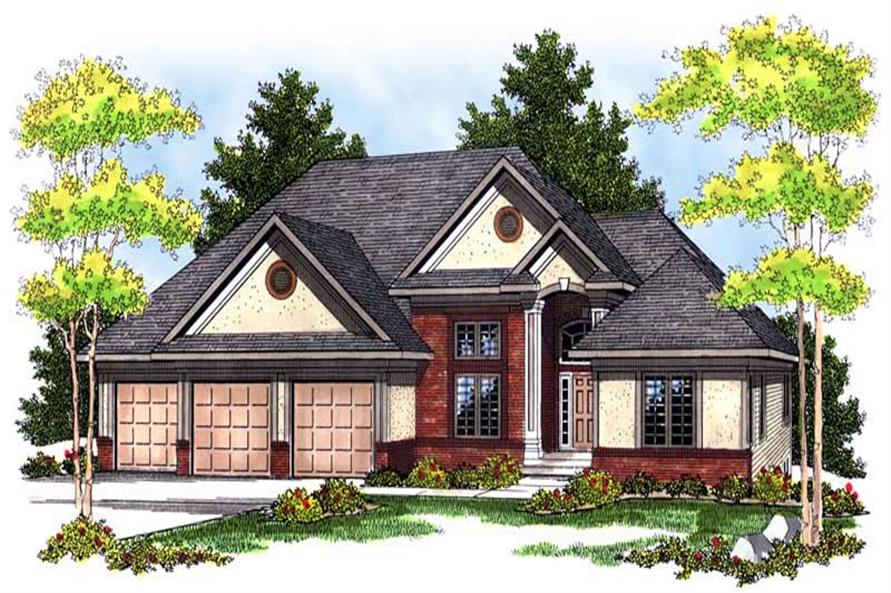 Main image for house plan # 13610