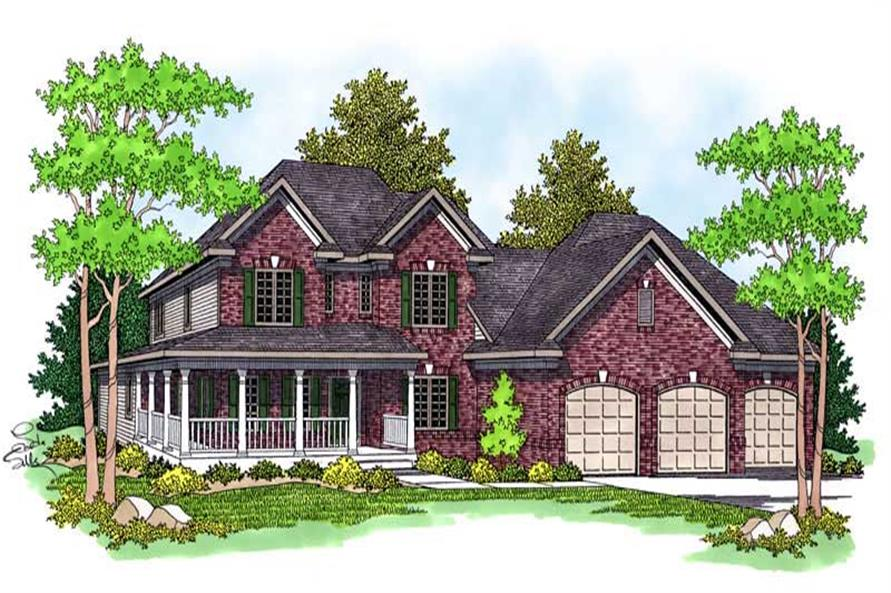 Main image for house plan # 13770