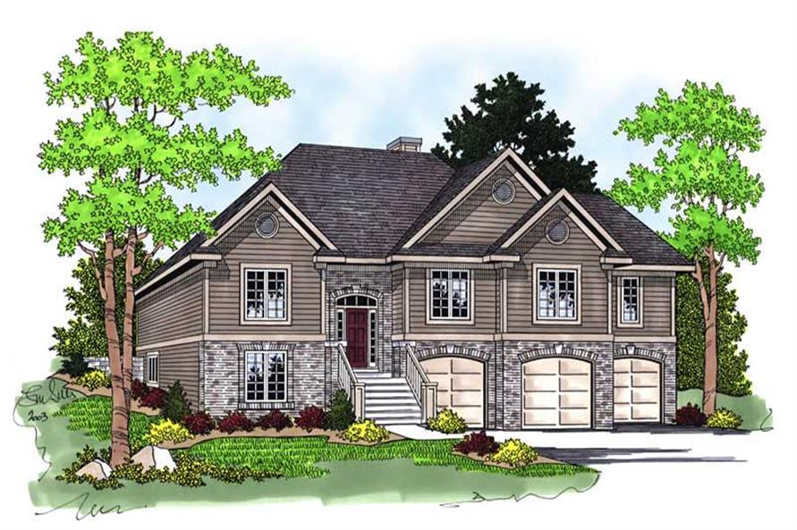 Main image for house plan # 13771