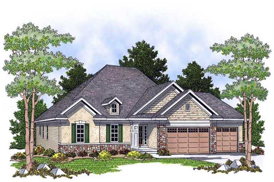 Main image for house plan # 13883