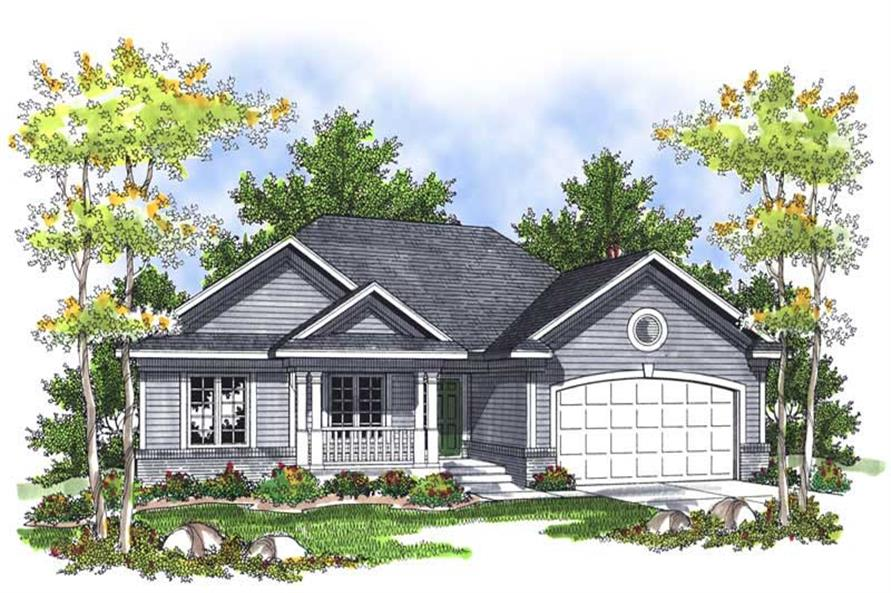 Main image for house plan # 13968