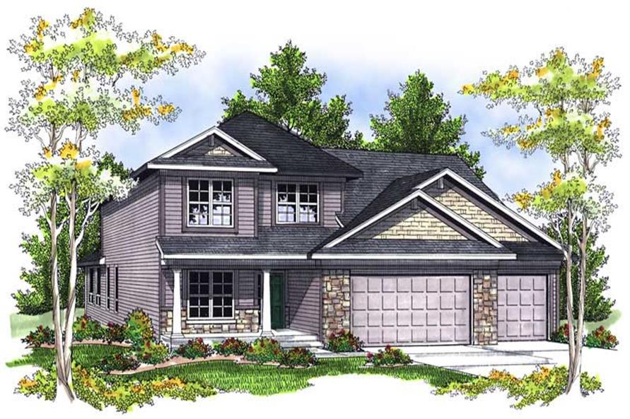 Main image for house plan # 13976