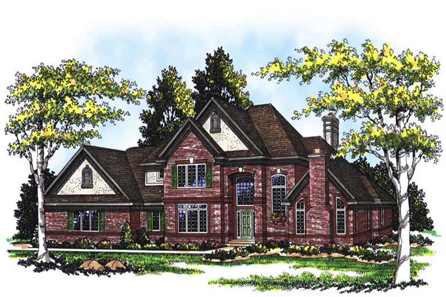 Main image for house plan # 13436