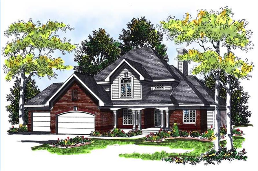 Main image for house plan # 13435