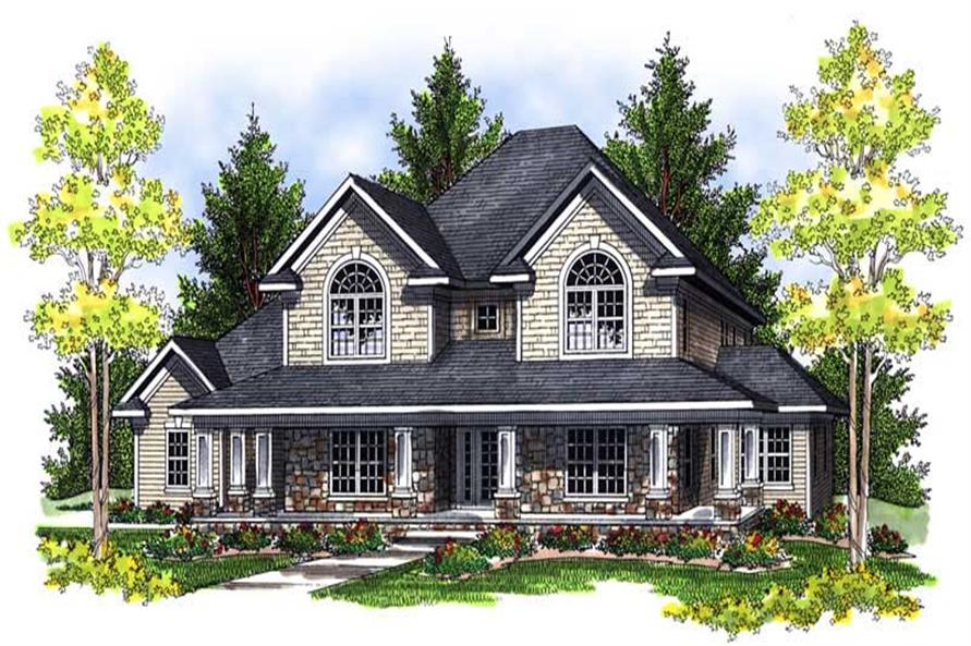 Main image for house plan # 13986