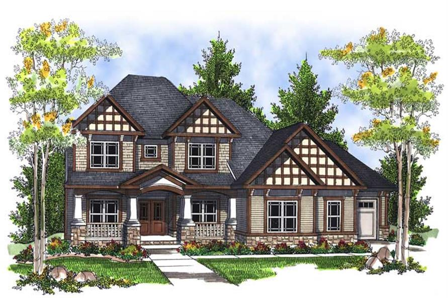 Main image for house plan # 13987