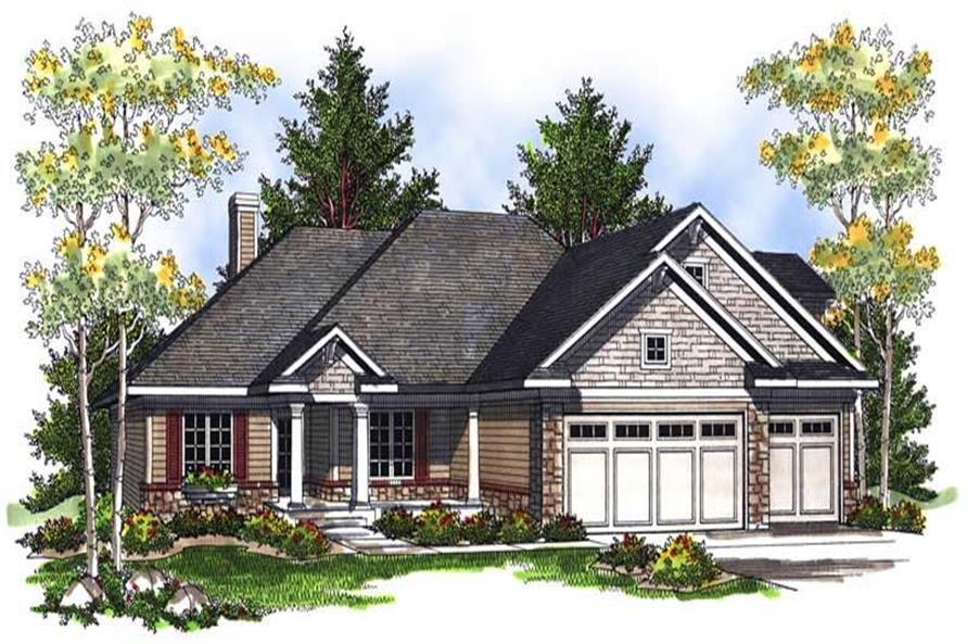 Main image for house plan # 13988