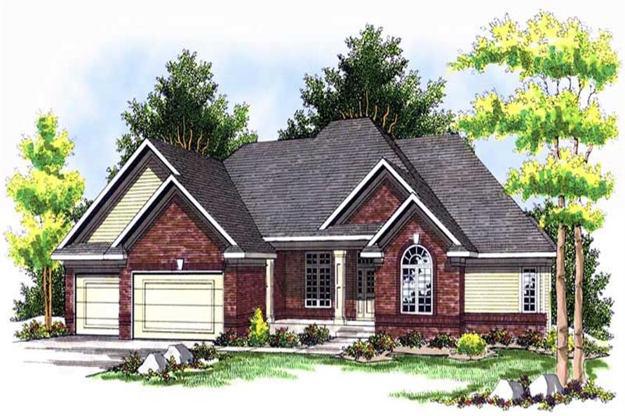 Main image for house plan # 13645