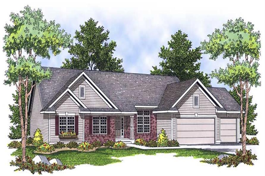 Main image for house plan # 13908