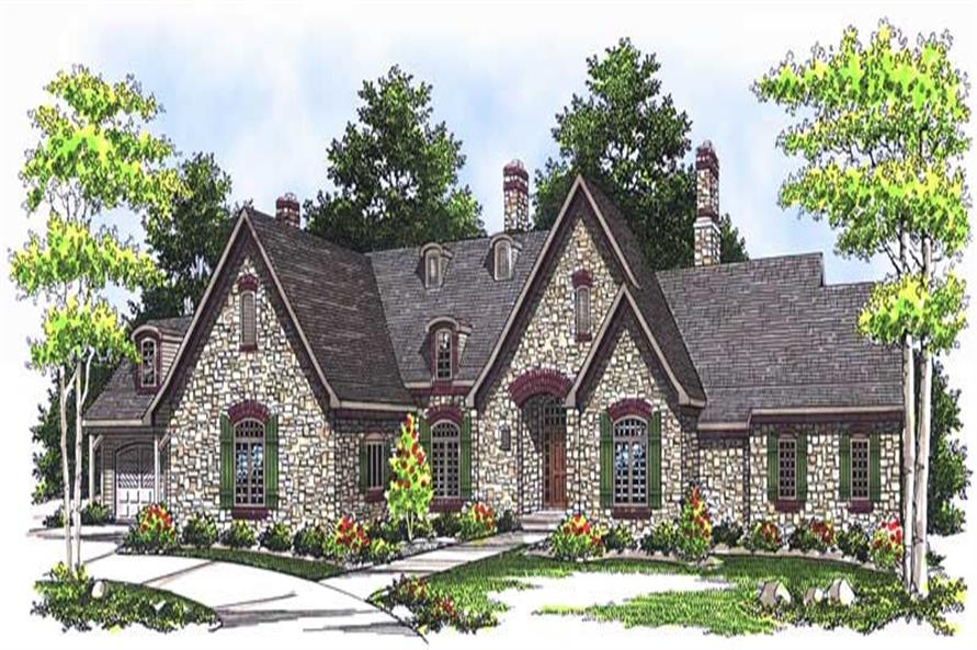 Main image for house plan # 13748