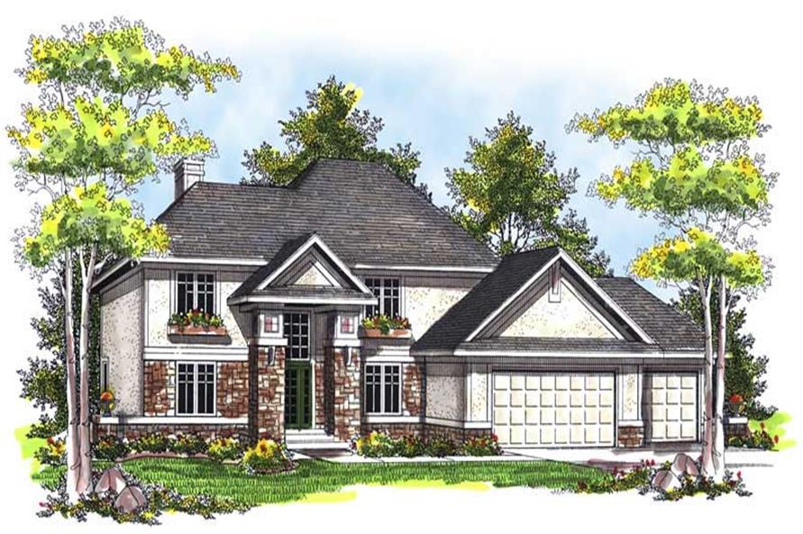 Main image for house plan # 14021