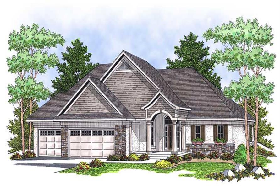 Main image for house plan # 13884