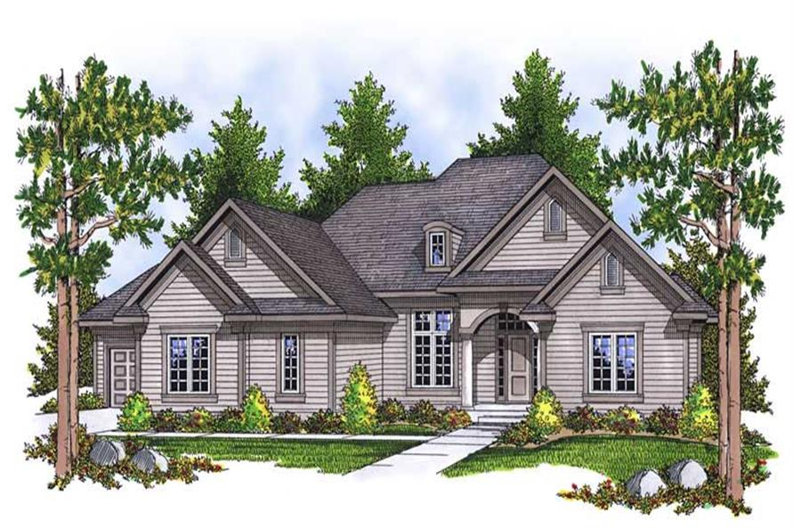 Main image for house plan # 13905