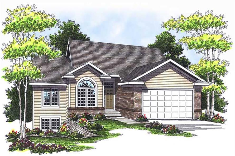 Main image for house plan # 13746