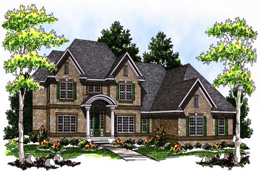 Main image for house plan # 13731