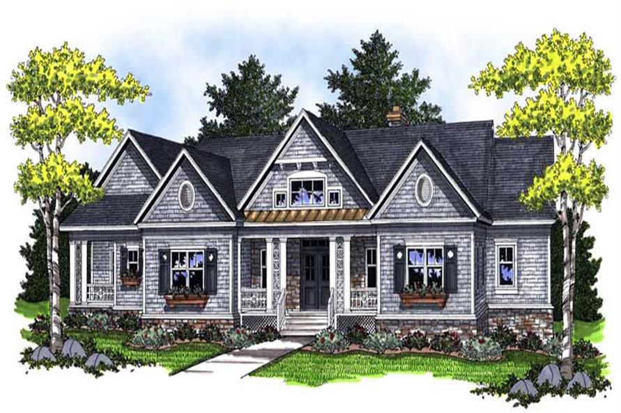 Main image for house plan # 14029
