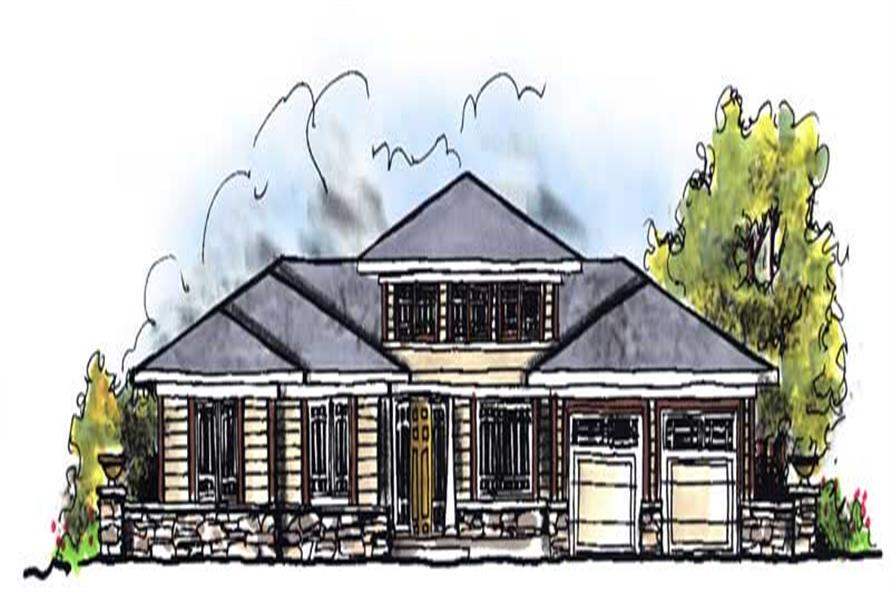 Main image for house plan # 13932