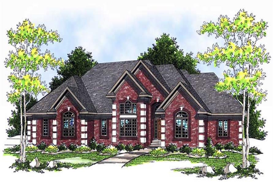 Main image for house plan # 13735