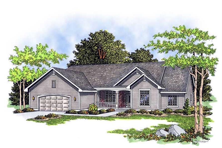 Main image for house plan # 13402