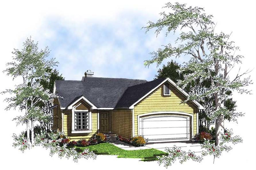 Main image for house plan # 13388