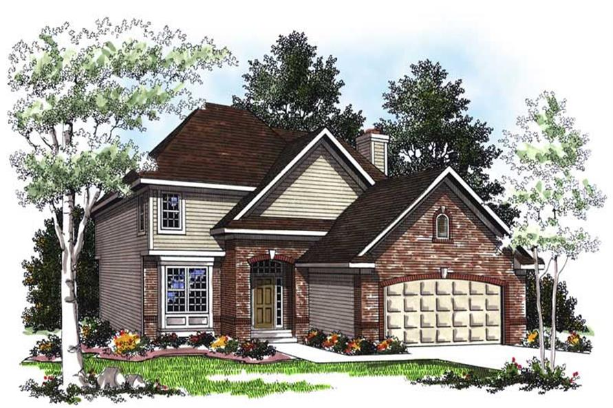 Main image for house plan # 13386