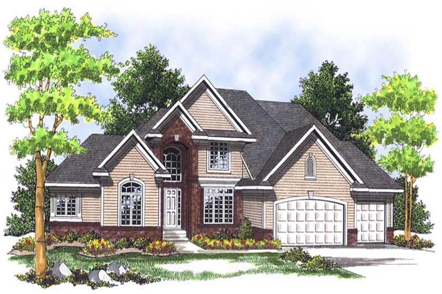 Main image for house plan # 13682