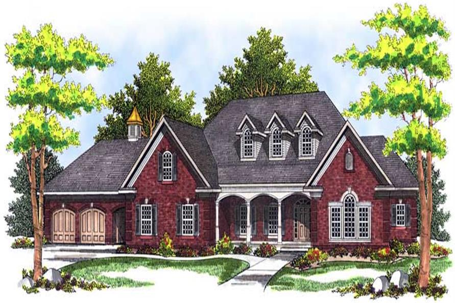 Main image for house plan # 13686