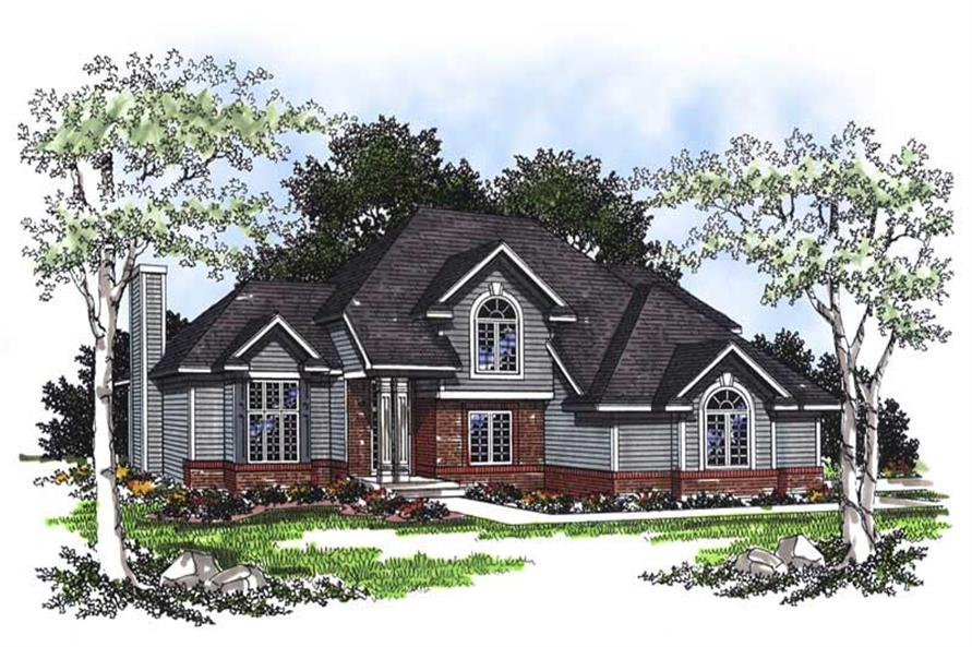 Main image for house plan # 13379