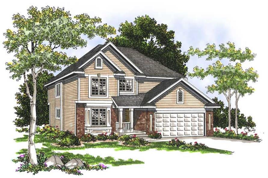 Main image for house plan # 13750
