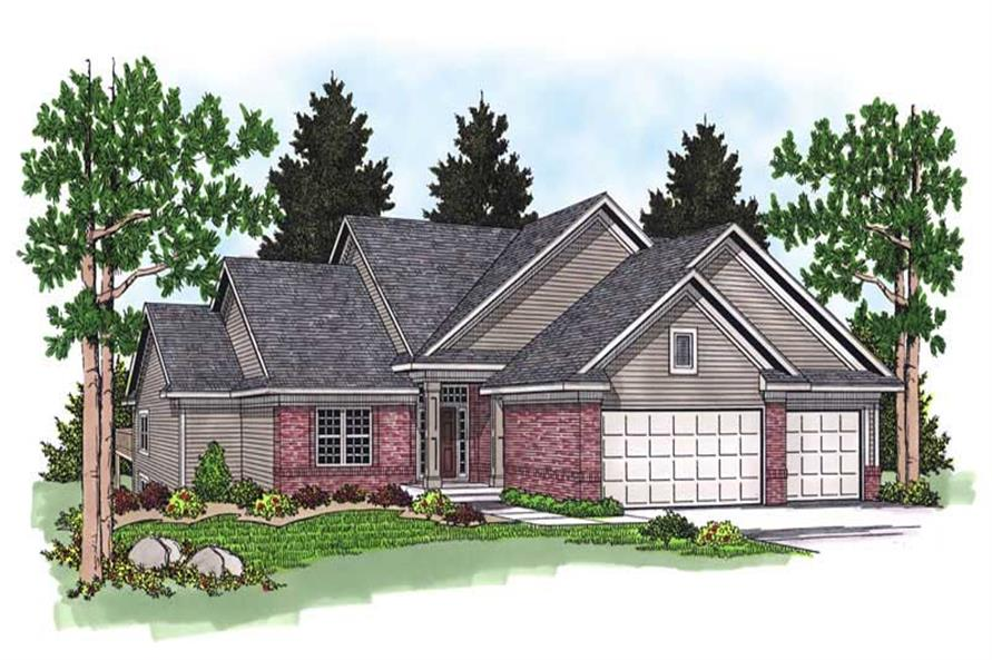 Main image for house plan # 13755