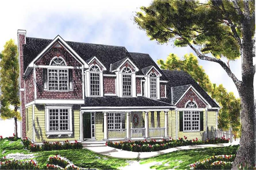 Main image for house plan # 13660